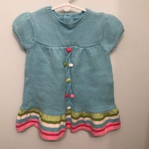 Gymboree sweater dress, 6-12 months- New with tags